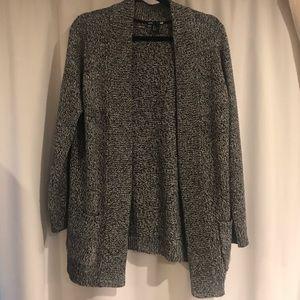 H&M Basics Woven Sweater